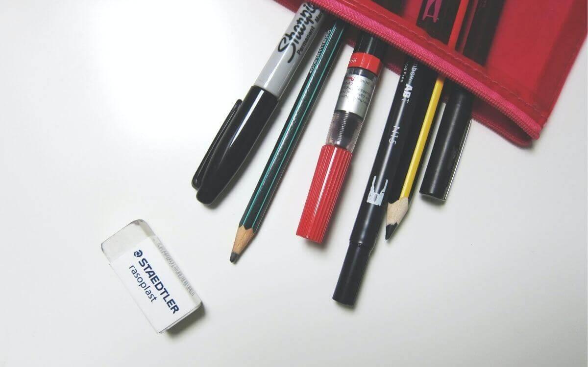 中学受験における筆記用具の決め方
